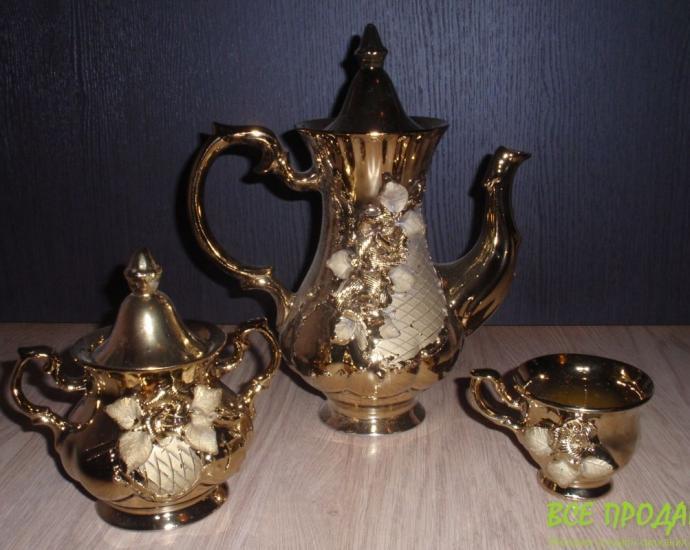 Шикарный (Золотой) чайный сервиз