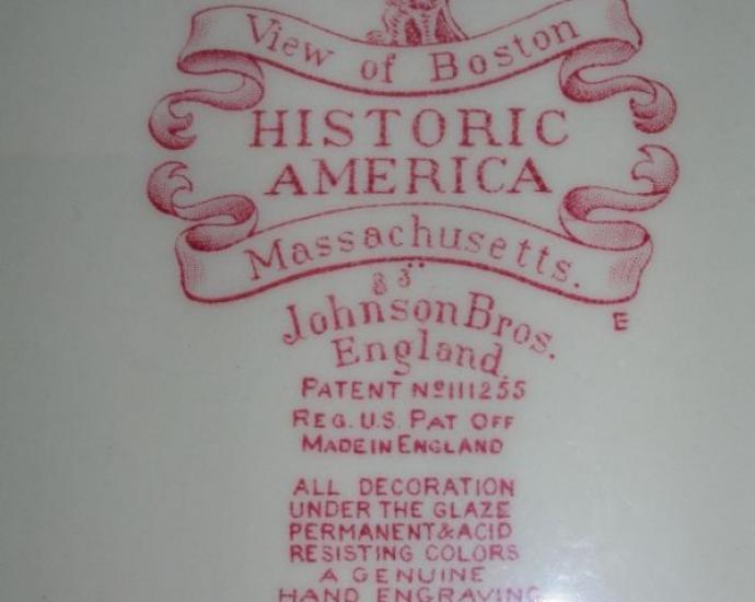 Декоративная тарелка  Johnson Brothers