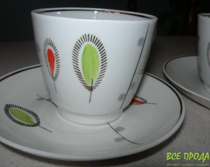 Чайная пара, 2 шт, Барановка, новые