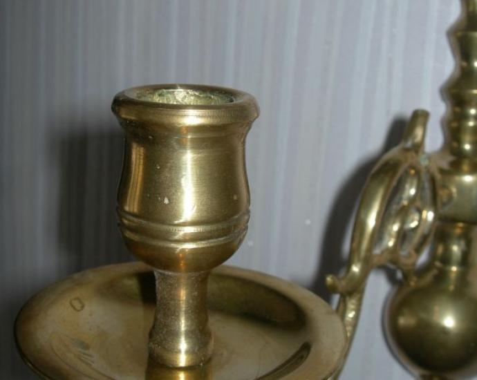 Подсвечник, бра, бронза, Голландия