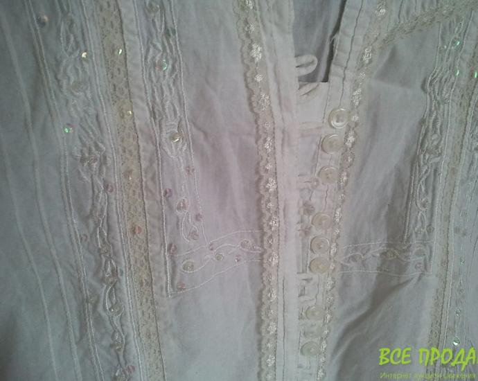 AUTHENTIC  рубашка размер 42 , белая