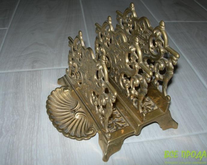 Подставка, бронза, Англия