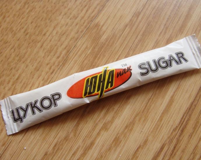Пакетики с сахаром № 171-178