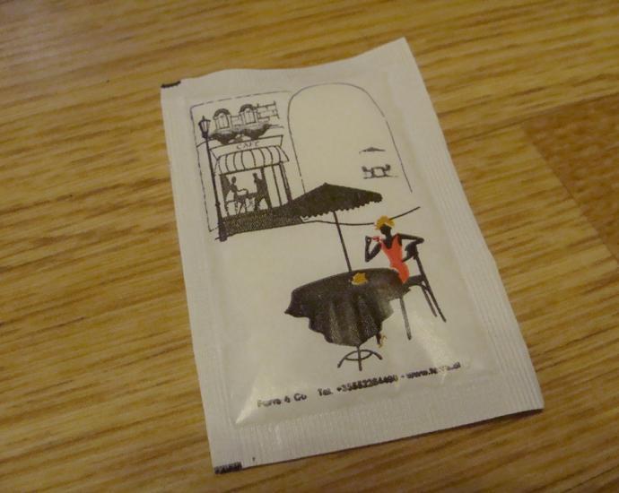 Пакетики с сахаром № 911-915