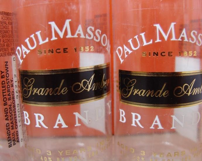 Бутылочки в коллекцию. 0, 05 л.  Пустые . № 12