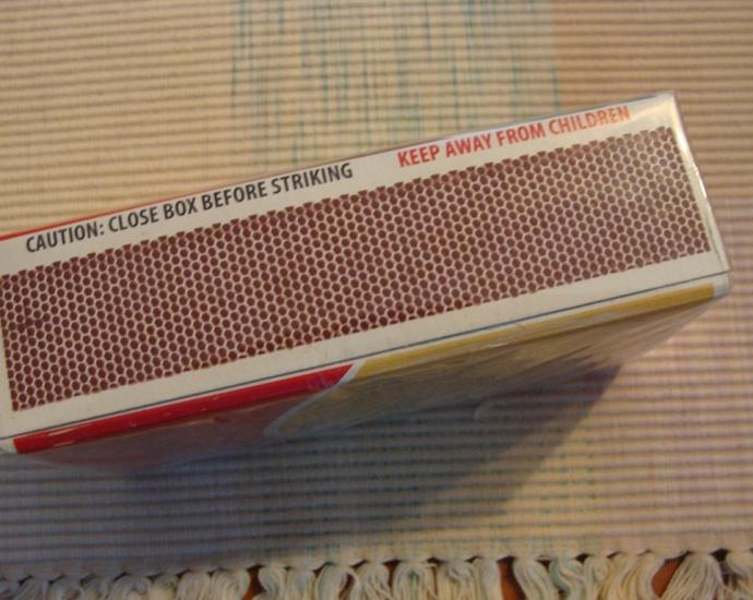 блок коробок спичек. США