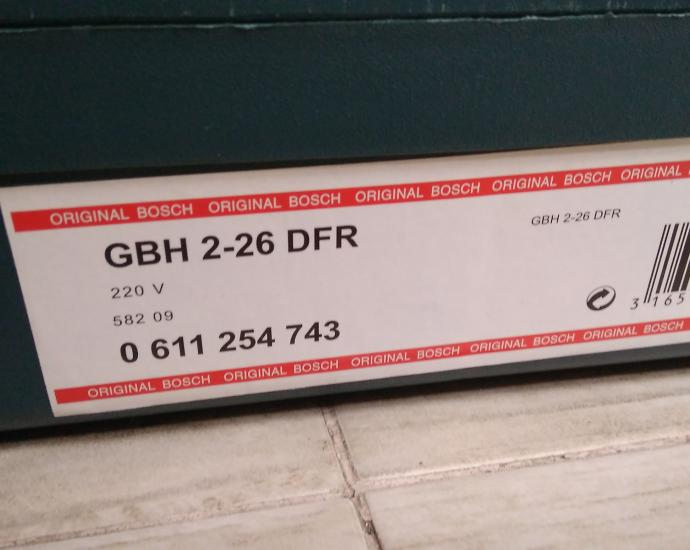 Перфоратор BOSCH GBH 2-26 DFR ORIGINAL