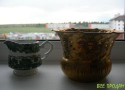 Ваза, бронзовая, редкая, Германия