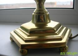 Лампа, светильник, бронза, Англия, клеймо, роскошная