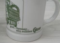 Бокалы, фарфор Lilien, Австрия, 2шт, пара!