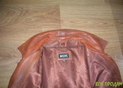 Куртка кожаная, мужская. Пиджак. Куплена в Англии