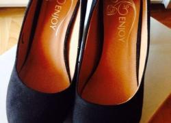 Брендовые замшевые туфельки
