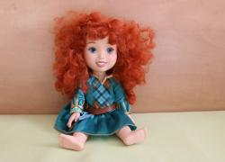 Лялька маля Disney Collection Merida, Меріда, Хоробра серцем
