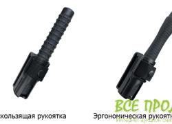 Телескопическая дубинка ESP Эргономическая ручка 23