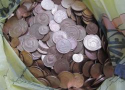 1000 ОТБОРНЫХ МОНЕТ НОМИНАЛОМ 1-2-3-5 КОПЕЕК !