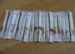 Пакетики с сахаром № 719 Один лот.