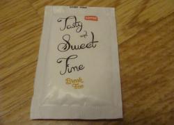 Пакетики с сахаром № 927-931