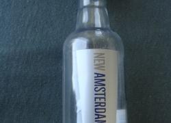 Бутылочки в коллекцию. 0, 05 л.  Пустая. № 2