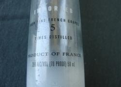 Бутылочки в коллекцию. 0, 05 л.  Пустая. № 4