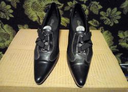 Фирменные стильные туфли S.Oliver.в отлично состоянии.размер 40.стелька 25,5 см.