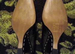 Кожаные туфли.в хорошем состоянии.размер 38.стелька 24 см.