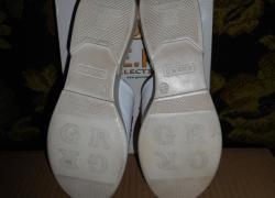 Кожаные стильные шлепанцы фирмы Ripka.размер 37.стелька 24 см.Турция.