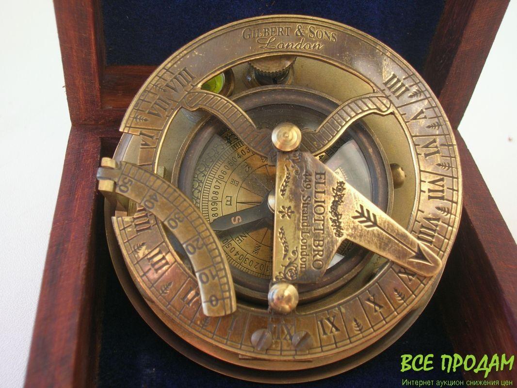 Как сделать солнечный компас